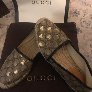 Authentic Gucci Espadrilles size 37 1/2
